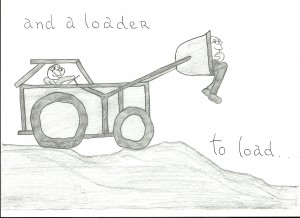 (2) Loader to load